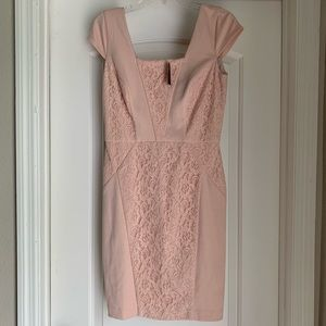 Women's THE LIMITED Blush Pink Dress NWT SZ S 🛍
